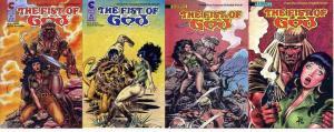 FIST OF GOD (1988 ET) 1-4  Jones & Burcham  COMPLETE!