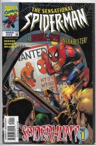 Sensational Spider-Man   vol. 1   #25 FN/VF (Spiderhunt 1)