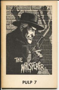 Pulp #7 1974-The Whisperer-Many faces of Lin San Fu-pulp reprints-VG/FN