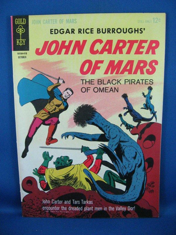 JOHN CARTER WARLORD OF MARS 3 VF NM 1964