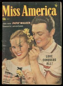 MISS AMERICA #24 1949-PATSY WALKER-ROMANCE & FASHIONS VG-