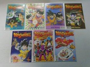 Dragon Ball Z Part 4 set #1-13 8.0 VF (2000 Viz)