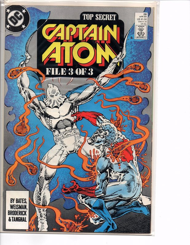 DC Comics Captain Atom #28 NM