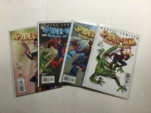 Spider-Man Quality Of Life 1-4 1 2 3 4 Lot Run Set Near Mint Nm Marvel