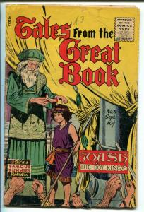 TALES FROM THE GREAT BOOK #3 1955-FAMOUS FUNNIES-JOASH-TOWER OF BABEL-RUTB-good+