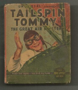 Tailspin Tommy Great Air Mystery ORIGINAL Vintage 1936 Whitman Big Little Book