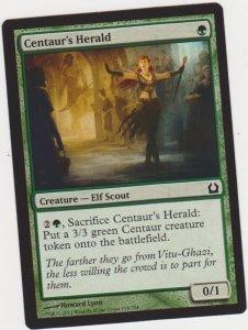 Magic the Gathering: Return to Ravnica - Centaur's Herald