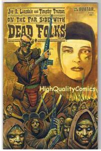 ON THE FAR SIDE W/ DEAD FOLKS #2, NM+, Zombies, Tim Truman, Horror