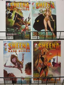 SHEENA QUEEN OF THE JUNGLE DARK RISING (2008 DDP)1C-3A+