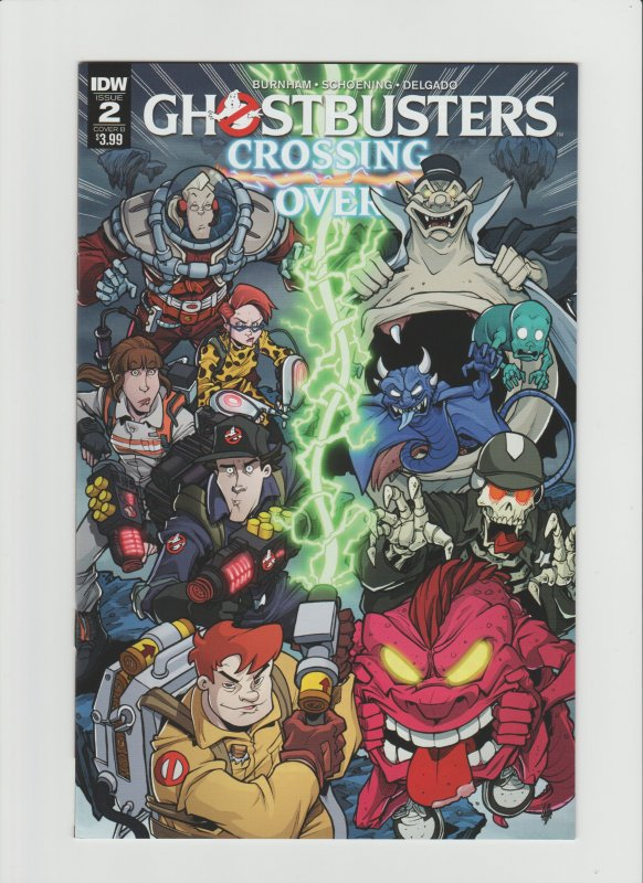 Ghostbusters: Crossing Over #2 NM 9.0 IDW Comic Cover by Tim Lattie