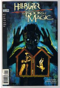 HELLBLAZER BOOKS of MAGIC #1, NM+, John Constantine, Vertigo, more in our store