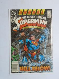 Adventures of Superman #1 Annual - 4.0 - 1987