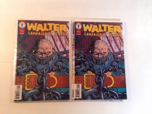 Walter Campaign Of Terror 1-4 Complete Near Mint Lot Set Run