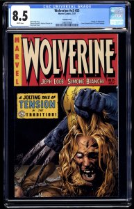 Wolverine (2003) #55 CGC VF+ 8.5 White Pages