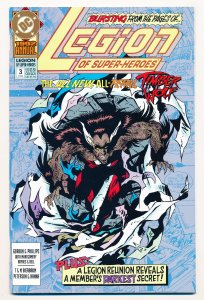 Legion of Super-Heroes (1989) Annual #3 VF