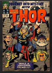 Journey Into Mystery #123 VG 4.0 Marvel Comics Thor