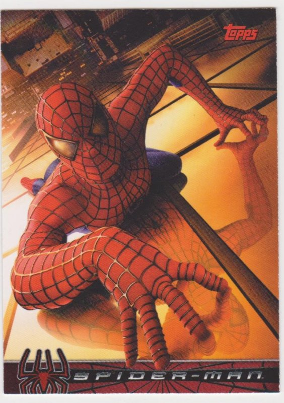2002 Spider-Man Movie Promo Card #P1
