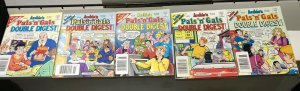 ARCHIE'S PALS 'n' GALS DIGEST MAGAZINE LOT of 5 Early-Mid 2000's FINE #11