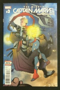 The Mighty Captain Marvel #3 Torque Cover A NM