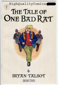 TALE of ONE BAD RAT #2, NM+, Bryan Talbot, Dark Horse, more in store