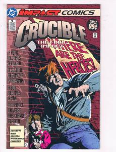 Crucible #1 VF DC Comics Comic Book Feb 1993 DE22