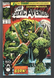 TOXIC AVENGER #1 VF+ 8.5;1st APP! MOVIE COMING! HOT BOOK!