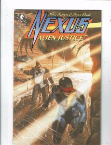 Lot of 3 Nexus Alien Justice Dark Horse Comic Books #1 2 3  WT18