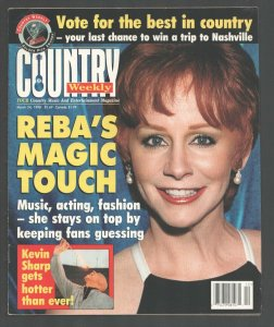 Country Weekly 3/24/1998-Reba McEntire-Kevin Sharp-Deana Carter-FN