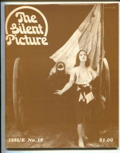 Silent Picture #19 1974-Miriam Cooper cover & feature-Nihilist genre checklist-F