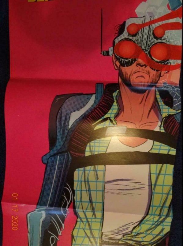 FBP PARADIGM Promo Poster, 11 x 34, 2014, VERTIGO Unused more in our store 512