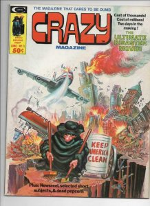 CRAZY #11 Magazine, VF, Will Eisner, Kelly Freas, 1973 1975, more in store