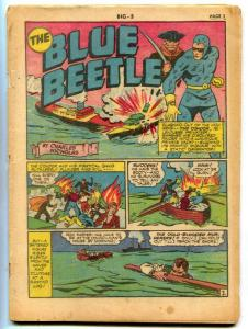 Big 3 #5 1941- Blue Beetle- Samson- Flame- coverless