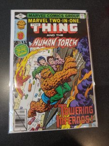 MARVEL TWO IN ONE #59 VF+/NM