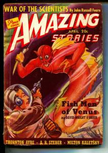Amazing Stories-Pulps-4/1940-David Wright O'Brien-Jack West