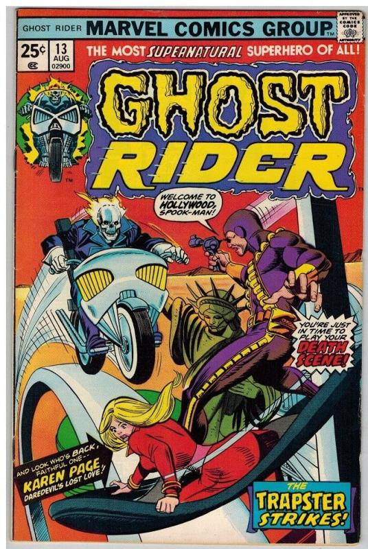 GHOST RIDER 13 FN- Aug. 1975