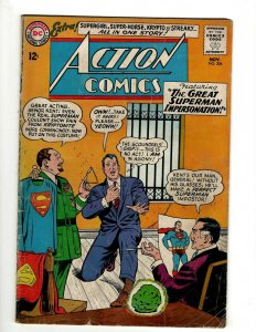 Action Comics # 306 VG DC Comic Book Superman Batman Green Lantern Flash KD1