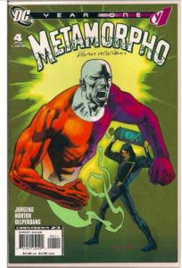 METAMORPHO: YEAR ONE #4 AUTOGRAPHED BY LEGENDARY COMIC ARTIST KEVIN NOWLAN W/COA
