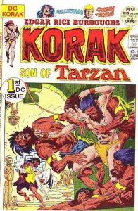 Korak Son of Tarzan #46 (Jun-72) FN/VF Mid-High-Grade Korak, Pellucidar, CarS...