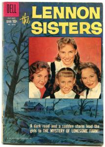 Lennon Sisters- Four Color Comics #1014 1959- Dell Silver Age VG