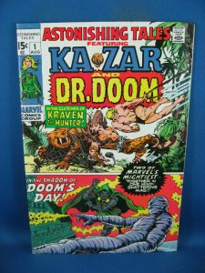 ASTONISHING TALES 1 F DR DOOM 1970