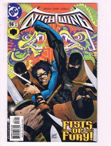 Lot Of 3 Nightwing DC Comic Books # 56 57 58 Batman Robin Joker Batgirl J21