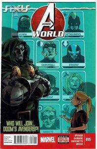 Avengers World #15 Doctor Doom Elsa Bloodstone NM