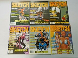 Sketch Comic Art Magazine Lot From #19-46 16 Different
