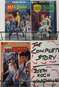 MAD DOGS (1992 EC) 1-3  CHUCK DIXON  complete story!