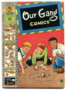 Our Gang Comics #34 1947- Tom & Jerry- Cark Barks VG