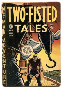 Two-Fisted Tales #18 1950 First issue-Harvey Kurtzman- LOW GRADE