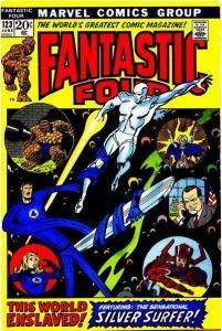 Fantastic Four (1961 series) #123, VF (Stock photo)