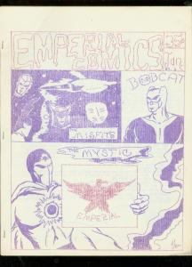 EMPERIAL FANZINE #1-ORIGINAL AMATURE COMIC STRIPS-1968 FN