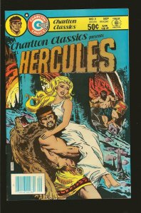 Charlton Classics Hercules #3 November (1980)