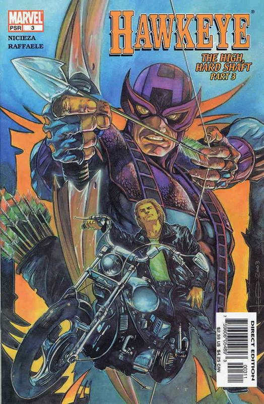 Hawkeye 3rd Series 3 VF NM Marvel